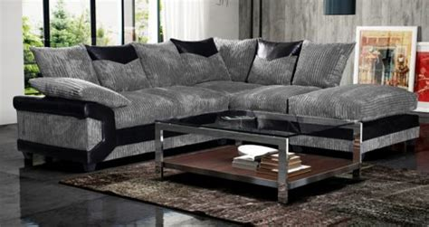 Black And Gray Sofa by Camellia Fabric Corner Sofa Black And Grey High