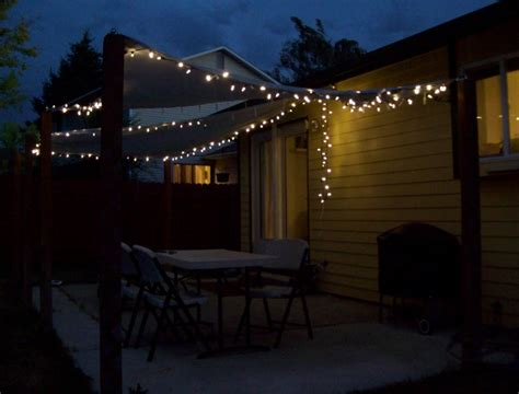string lights over patio ideas for make outdoor patio lights string lighting and