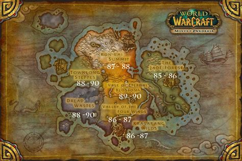 wow level leveling guide alliance mop map warcraft pandarian horde faster tricks quests