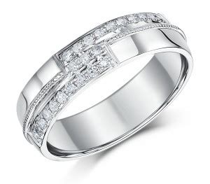 6mm mens 9 carat white gold wedding ring band 9ct white gold at elma uk jewellery
