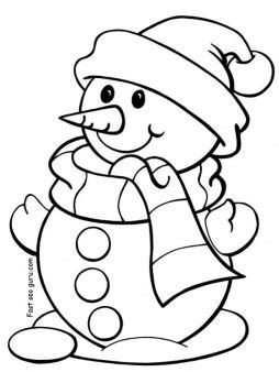 printable snowman coloring pages for preschool 613 | printable christmas snowman coloring pages for preschool 1299962873