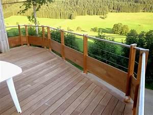 rampe d escalier exterieur en aluminium 11 balustrade With modele escalier exterieur terrasse 8 balustrade bois exterieur pas cher