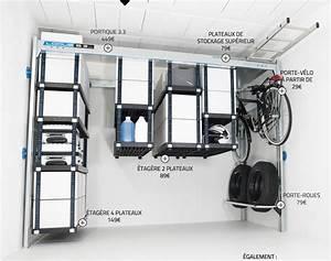 une solution complete pour le rangement de son garage lodus With rangement pour le garage