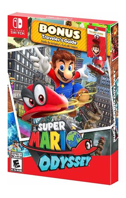 Nintendo Mario Odyssey Super Starter Switch Pack