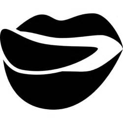 Lips with Tongue Out Logo