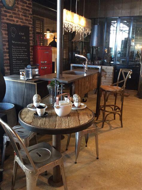table cuisine style industriel meuble de cuisine style industriel meuble bar comptoir
