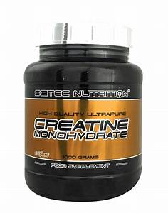 Ultrapure Creatine Monohydrate By Scitec Nutrition  1000 Grams