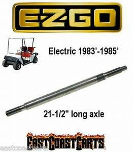 Ezgo Golf Cart Rear Axle 1983 U0026 39