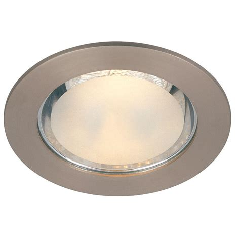 commercial electric 4 in brushed nickel shower recessed