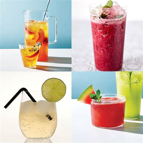 summer drink recipes health com