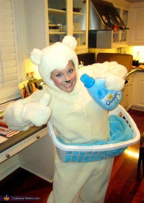 snuggle fabric softener bear homemade halloween costume