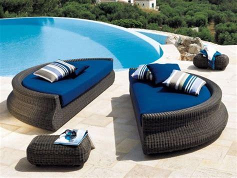 canape rond exterieur mobilier extérieur design 60 chaises longues et lits de