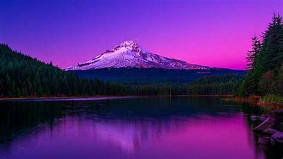 Usa Desktop Forest Mountain Mountains Sunset Oregon