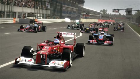 No Sharp Turns Here - F1 2012 - PlayStation 3 - www