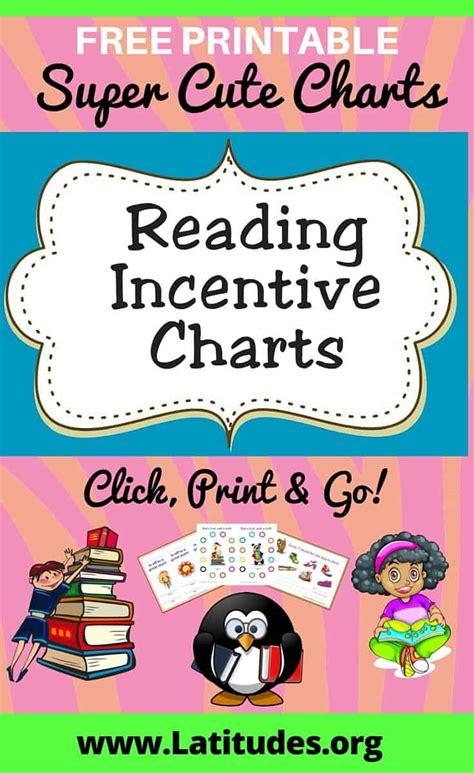 Free Printable Reading Charts For Kids  Acn Latitudes