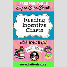 Free Printable Reading Charts For Teachers & Students  Acn Latitudes