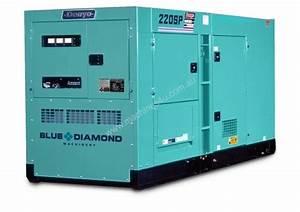 New 2018 Denyo Denyo 220kva Diesel Generator Komatsu