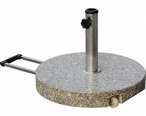 Schirmständer 50 Kg : schirmst nder granit 50cm jetzt kaufen bei hornbach sterreich ~ Watch28wear.com Haus und Dekorationen