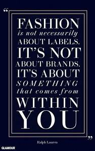 Glamour Quotes ... Fashion Glamour Quotes