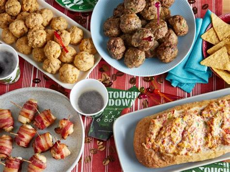 easy  eat game day appetizers food network super