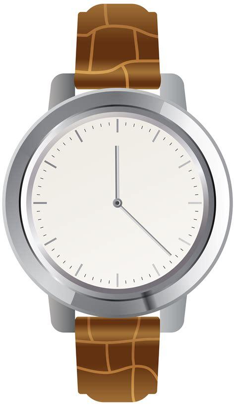 wall clock brown wrist png clip best web clipart