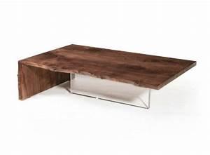 Pied De Table Basse Design : table verre pied bois ~ Preciouscoupons.com Idées de Décoration
