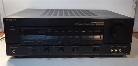 Sony Integrated Amplifier Surround Wpc