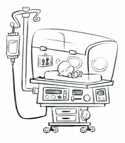 Hospital Coloring Ambulance Pages Printables Getcolorings Printable