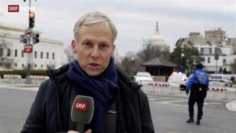 SRF-Korrespondent Thomas von Grünigen in Washington: «Wir ...
