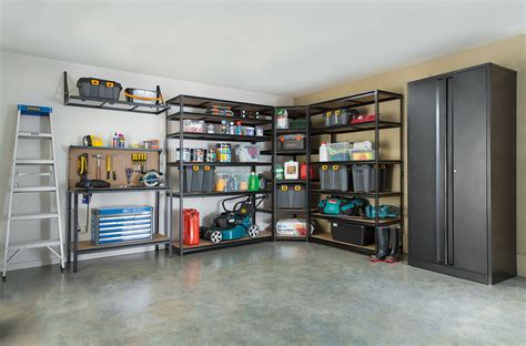 create  multi purpose garage space