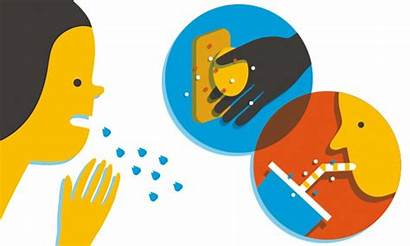 Clipart Germs Spread Direct Disease Ways Immunity