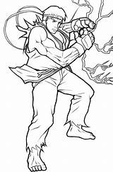 Ryu Fighter Coloring Street Lineart Tenebrae Angelus Drawings Template Deviantart Popular Os Searches Recent Mystuff sketch template