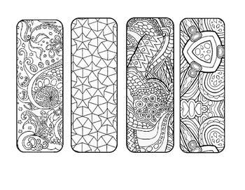 mosaic mandala diy coloring page bookmark   stuff tpt