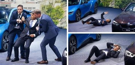 bmw ceo faint iaa bmw ceo collapses on stage during presentation at