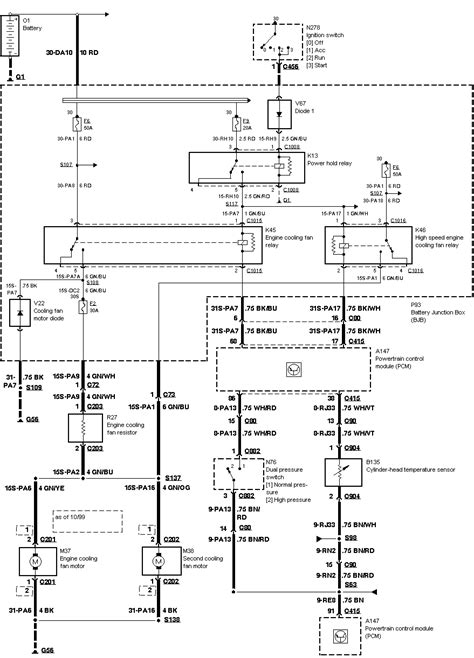 2001 Ford Focu Wiring Diagram by Cooling Fan Switch Locator I Would Like To Where Is