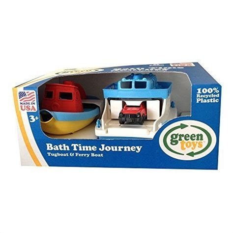 Green Toys Ferry Boat by Green Toys Bath Time Journey Tugboat Ferry Boat Epic
