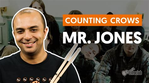jones counting crows aula de bateria youtube
