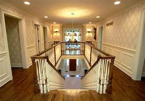 Beautiful Hallway and Staircase 1 of 3 - Traditional