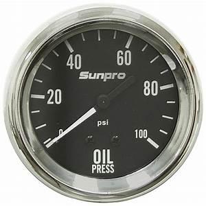 100 Psi 2 8 U0026quot  Oil Pressure Gauge Kit Mech