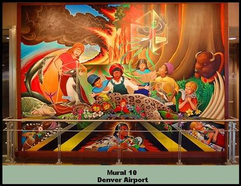 Denver Airport Murals Conspiracy Debunked by Denver International Airport What S Up With The Murals