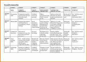 Plan personal development plan sample for Client service plan template
