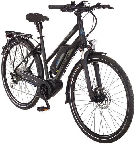 damen e bike mit mittelmotor fischer fahrraeder e bike trekking damen 187 etd1861 ready