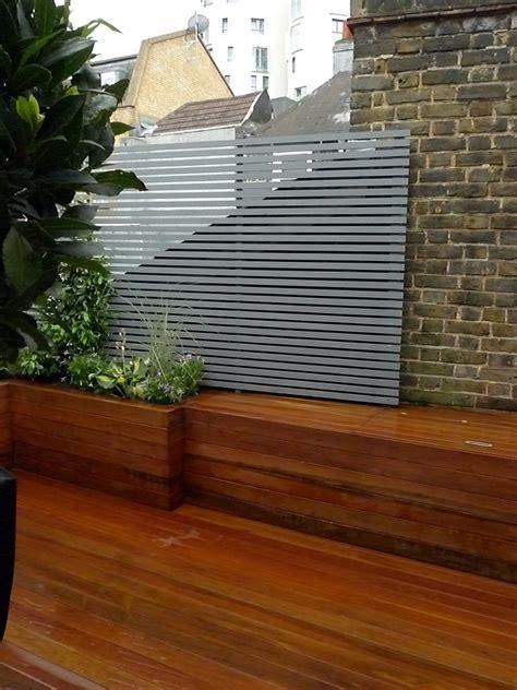 Low Garden Trellis by Courtyard Garden Design