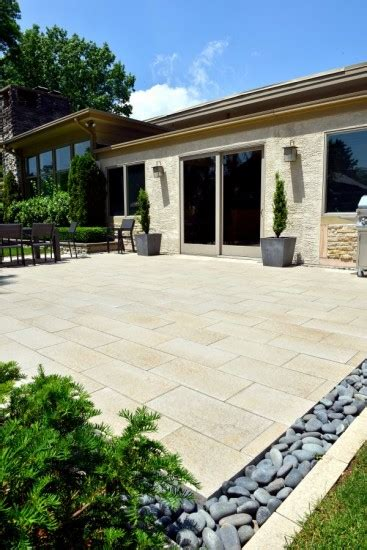 Unilock Patio Pavers - unilock patio with umbriano paver photos