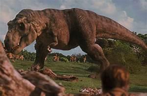jurassic park t-rex-attacks - HeyUGuys