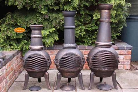 Gardeco Granada Bronze Cast Iron Extra Large Chiminea
