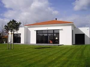 Maison Moderne Toit Plat : cuisine sweet construction moderne maison toit plat ~ Nature-et-papiers.com Idées de Décoration