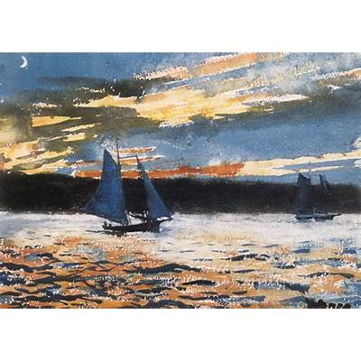 Winslow Homer Watercolors on PinterestWatercolors