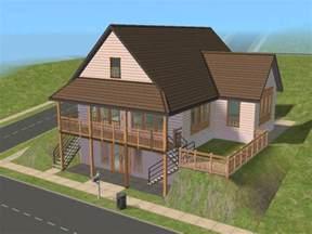 guest cottage floor plans mod the sims daylight basement cottage