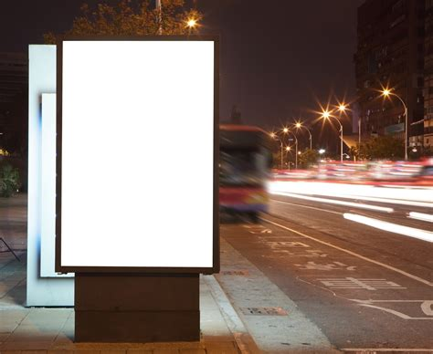 Billboard Stand by Stand Out In Ad Chaos